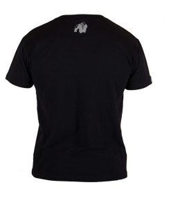 Gorilla Wear Sacramento V-Neck Zwart-Rood-2