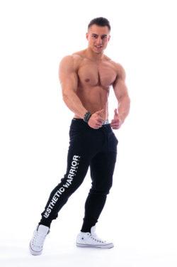 Nebbia Sweatpants 118 - Bodybuilding Lange Broek Zwart-2