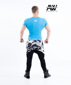 Nebbia T-Shirt 112 - Bodybuilding T-Shirt Blauw-2