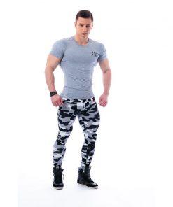 Nebbia Tech Top 120 - Bodybuilding T-Shirt Grijs-1