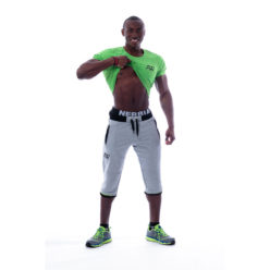 Nebbia Tech Top 120 - Bodybuilding T-Shirt Groen-1
