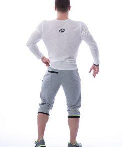 Longsleeve T-Shirt 113 creme - Nebbia Aesthetic Warrior achterkant