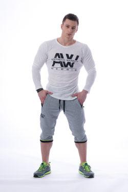 Longsleeve T-Shirt 113 creme - Nebbia Aesthetic Warrior voorkant