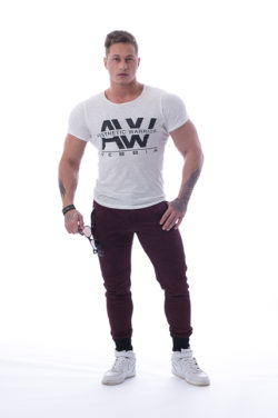 T-Shirt 112 creme - Nebbia Aesthetic Warrior voorkant