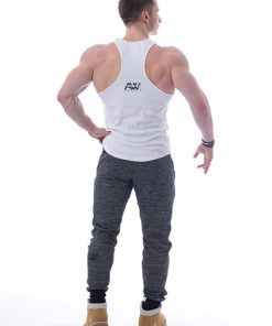 Tank Top 111 wit - Nebbia Aesthetic Warrior achterkant