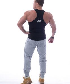 Tank Top 111 zwart - Nebbia Aesthetic Warrior achterkant