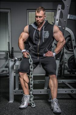 bodybuilding rits tank top zwart - nebbia hard core regtop zipper 316-1