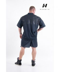 bodybuilding shorts zwart - nebbia hard core shorts 302-2