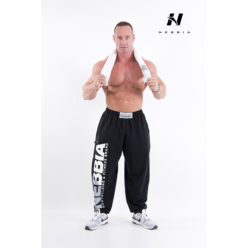 bodybuilding sweatpants zwart - nebbia hard core sweatpants 310-2