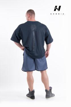 bodybuilding t-shirt zwart - nebbia hard core t-shirt 305-2
