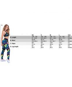 Mfit Sportswear Maattabel