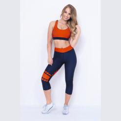 Sporttop Blauw Rood - Mfit Sportswear Blocks-1