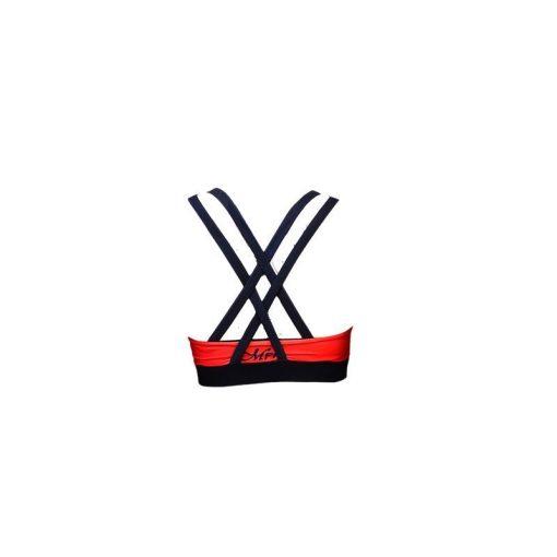 Sporttop Blauw Rood - Mfit Sportswear Blocks-3