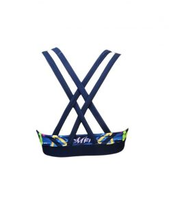 Sporttop Zwart Blauw - Mfit Sportswear Triangle-3