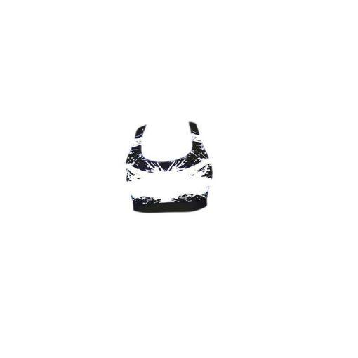 Sporttop Zwart Wit - Mfit Sportswear White Warrior-2