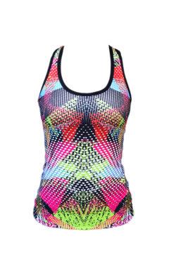 Tanktop Gekleurd - Mfit Sportswear Confetti-2
