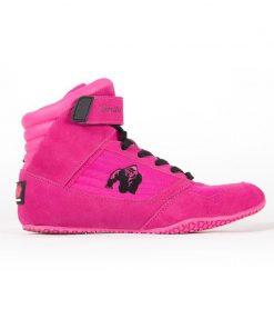 sportschoenen roze gorilla wear high tops zijkant