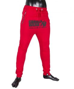 gorilla wear alabama drop crotch joggers rood-2