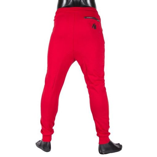 gorilla wear alabama drop crotch joggers rood-3