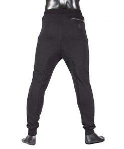 gorilla wear alabama drop crotch joggers zwart-3