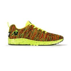 gorilla wear brooklyn knitted sneakers neon mix-1