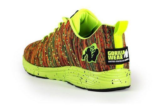 gorilla wear brooklyn knitted sneakers neon mix-3