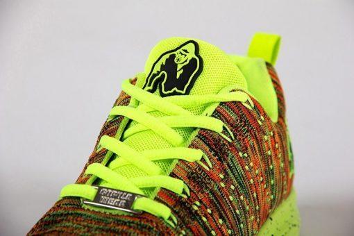 gorilla wear brooklyn knitted sneakers neon mix-5