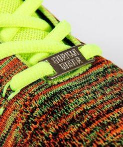 gorilla wear brooklyn knitted sneakers neon mix-6