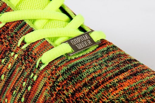 gorilla wear brooklyn knitted sneakers neon mix-6