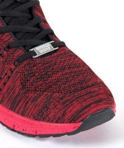 gorilla wear brooklyn knitted sneakers rood-zwart-4