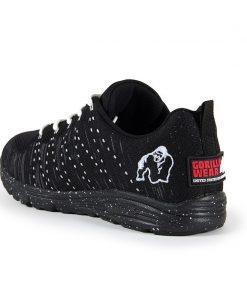 gorilla wear brooklyn knitted sneakers zwart-wit-3