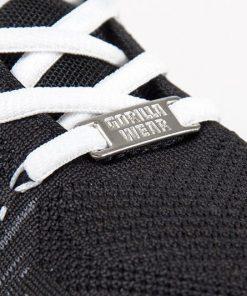 gorilla wear brooklyn knitted sneakers zwart-wit-4