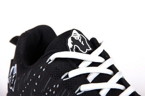 gorilla wear brooklyn knitted sneakers zwart-wit-5