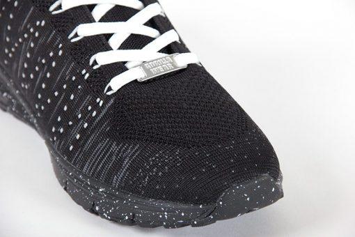 gorilla wear brooklyn knitted sneakers zwart-wit-6
