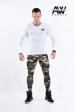 nebbia tech 121 bodybuilding longsleeve wit-1