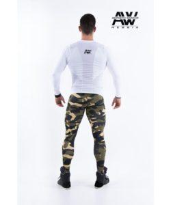nebbia tech 121 bodybuilding longsleeve wit-2