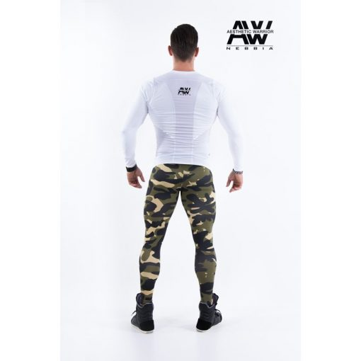 nebbia tech 121 bodybuilding longsleeve wit-2