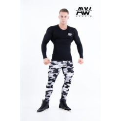 nebbia tech 121 bodybuilding longsleeve zwart-1