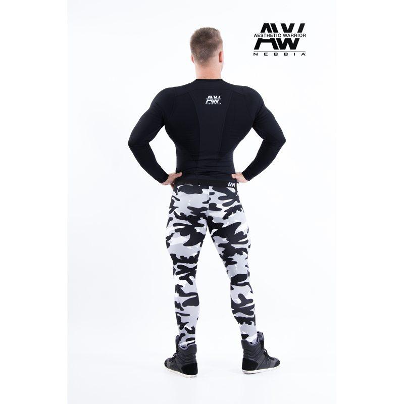 nebbia tech 121 bodybuilding longsleeve zwart-2
