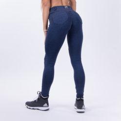 push up broek blauw nebbia bubble butt pants blauw achterkant 2