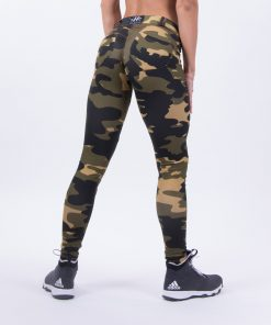 push up broek camo nebbia bubble butt pants camo achterkant