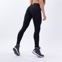 push up broek zwart nebbia bubble butt pants zwart