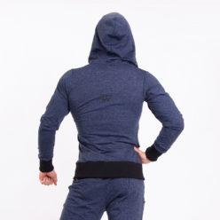 Nebbia Jacket 109 - Bodybuilding Vest Blauw achterkant