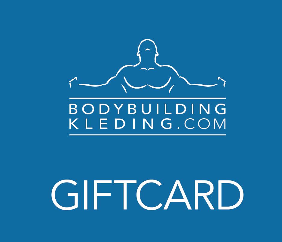 Bodybuildingkleding.com Cadeaukaart giftcard hoes