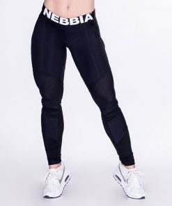 Fitness Leggings Network Zwart - Nebbia Leggings 284-1