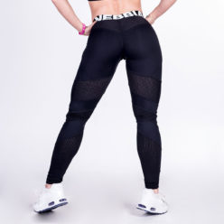 Fitness Leggings Network Zwart - Nebbia Leggings 284-2