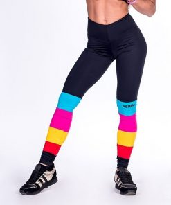 Fitness Leggings Regenboog - Nebbia Leggings 278-1