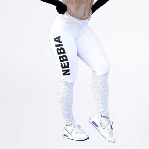 Fitness Leggings Wit - Nebbia Leggings 280-1