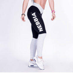 Fitness Leggings Zwart Wit - Nebbia Leggings 280-2
