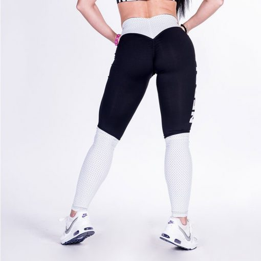 Fitness Leggings Zwart Wit - Nebbia Leggings 280-3